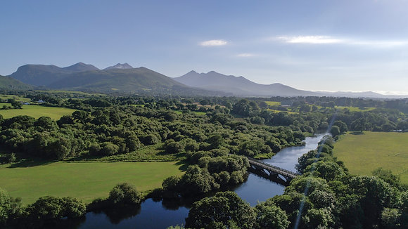 Beaouford Bridge with Reeks