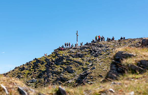 Carrantoohill Summit Cross