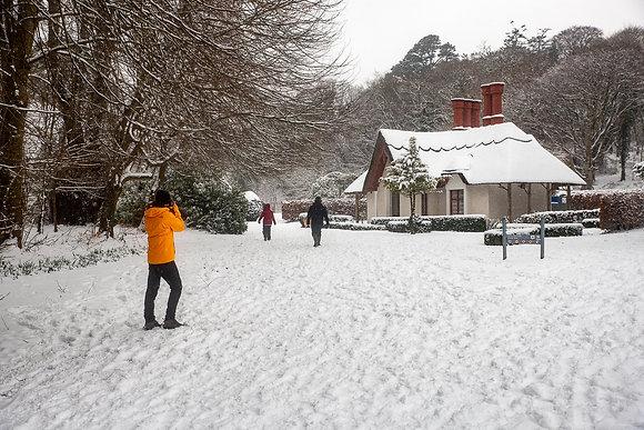 Deenagh Lodge snow 1
