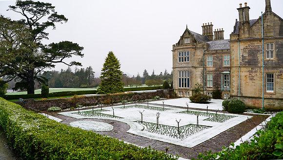 Muckross Garden snow