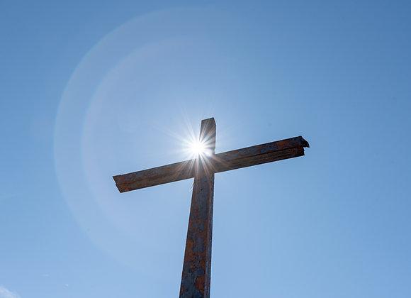 Carrauntoohil steel cross
