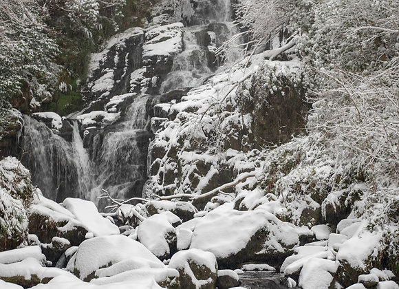 Torc Waterfall in the Snow