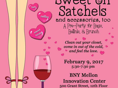 Sweet On Satchels: Satchels Of Caring    Pre Party