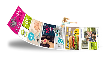 publicité dos ticket de caisse Anicom