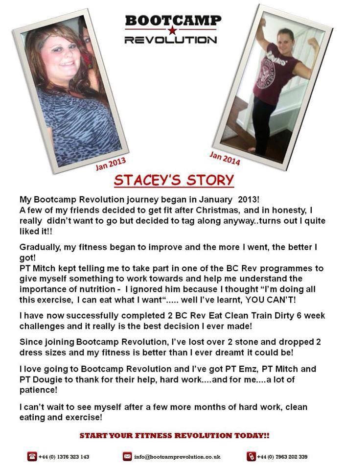 Tap to read Stacy's story