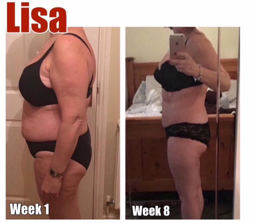 Tap to see Lisa's amazing results