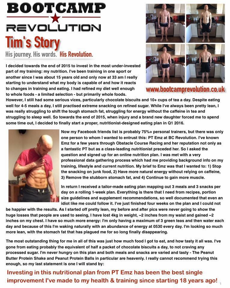 Tap to read Tim's story