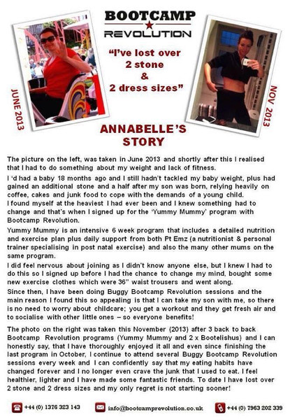 Tap to read Annabelle's story