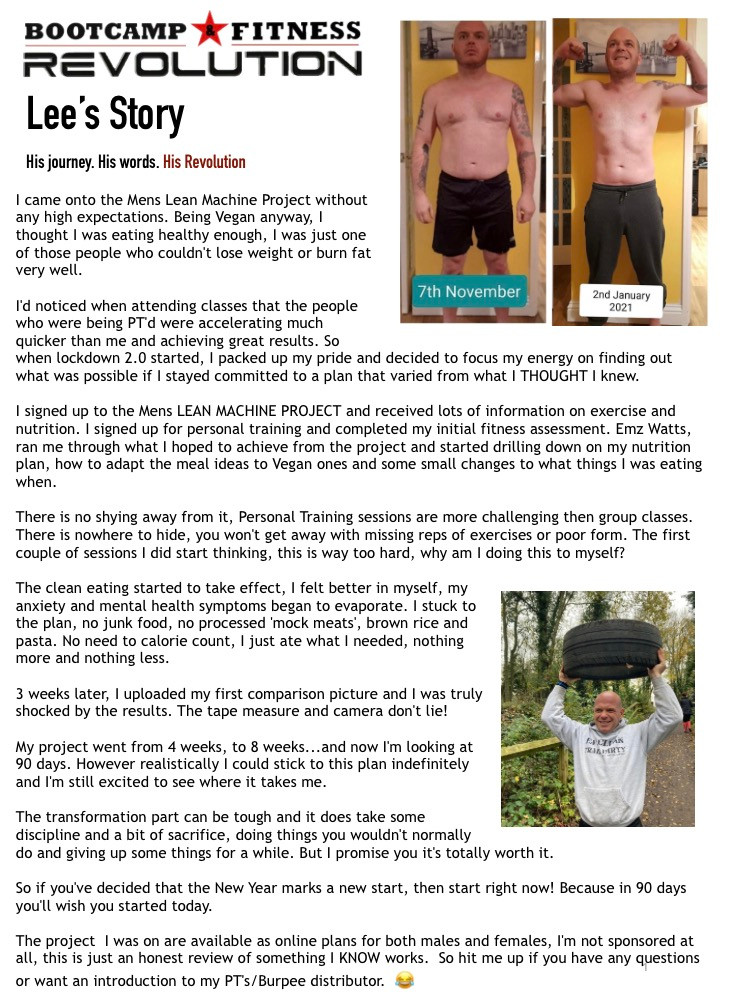 Tap to read Lee's story