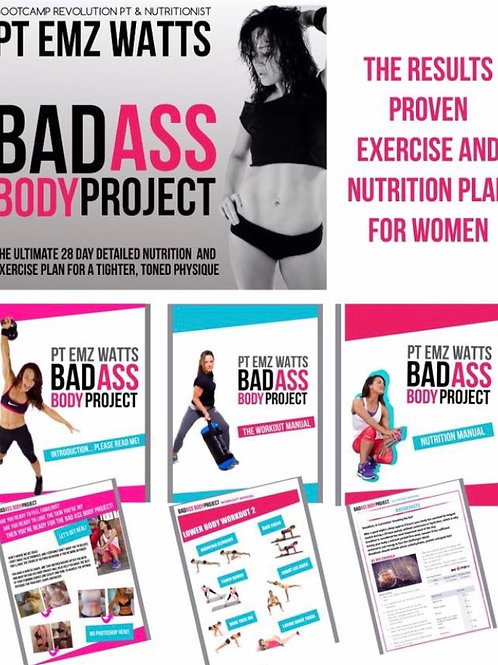 LADIES; Bad Ass Body Project.