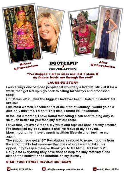 Tap to read Lauren's story