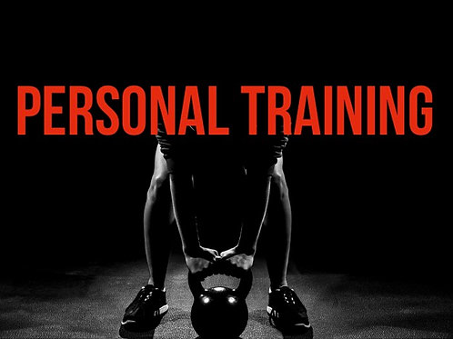 PERSONAL TRAINING: package 1