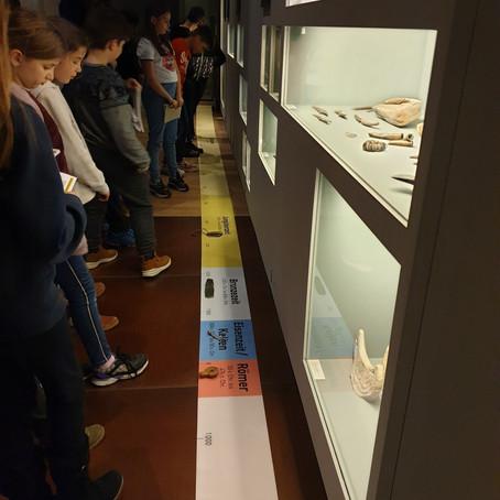 Forsche – auf Spurensuche im Historischen Museum               Klasse 4a