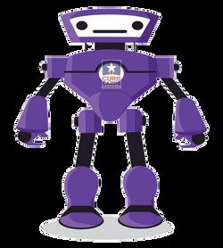 Purple-robot