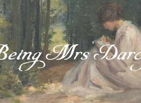 (It Isn't Easy) Being Mrs Darcy
