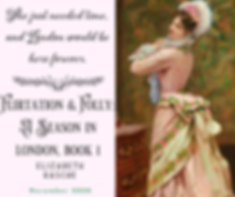 Historical Romance novel Flirtation & Folly