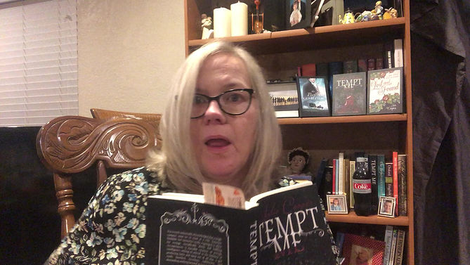 Author Julie Cooper reads an excerpt from Tempt Me