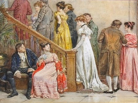 Introverts and Extroverts in the Regency Era