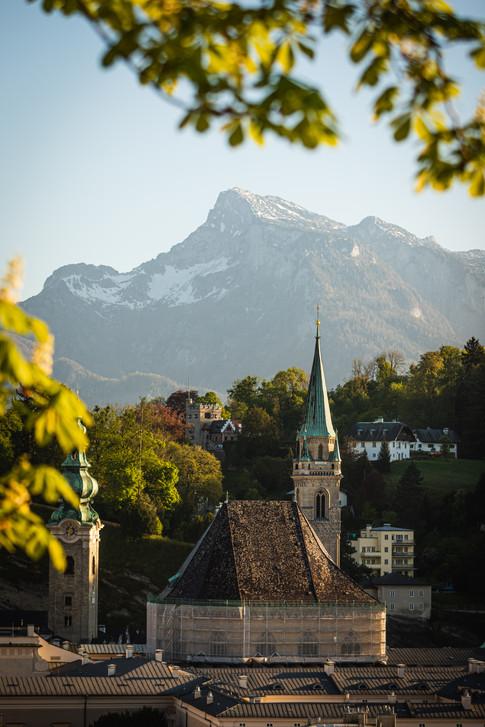 Salzburg im Frühling