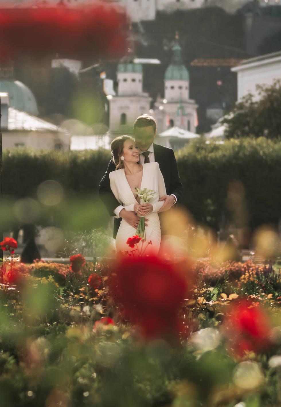 Hochzeit im Mirabellgarten