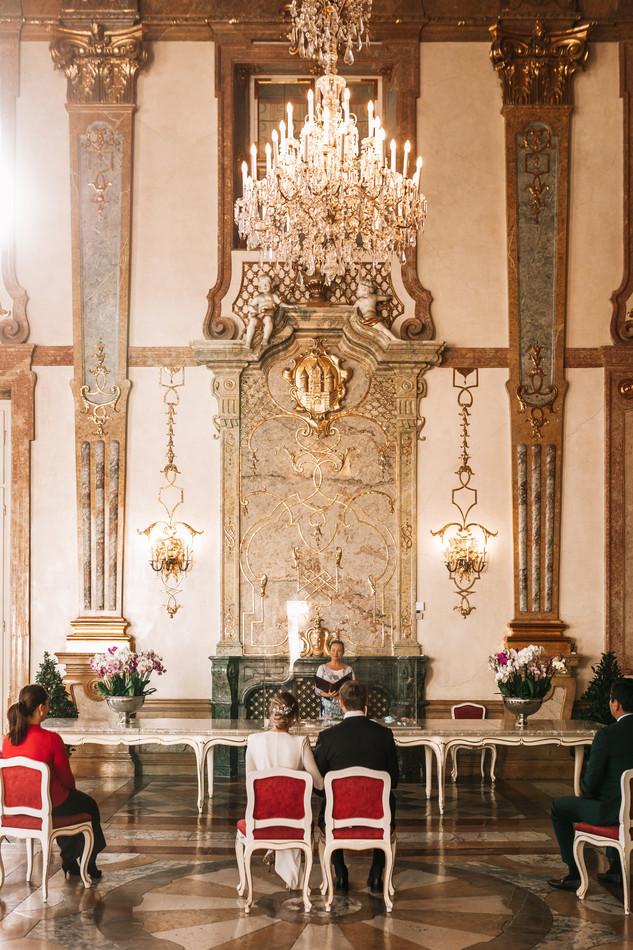 Hochzeit Schloss Mirabell 17