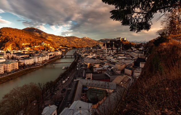 Salzburg Sonnenuntergang