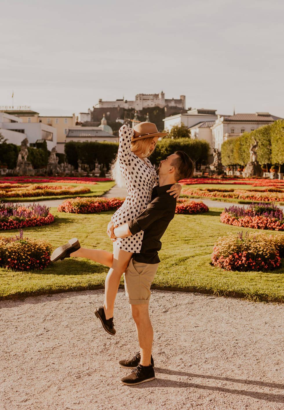 Pärchenfotos in Salzburg