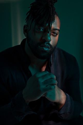 Oritsé Williams - JLS- music portrait photography London