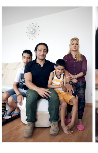 Family Rahimi from Afghanistan
