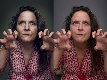 Retouched images vs. reality