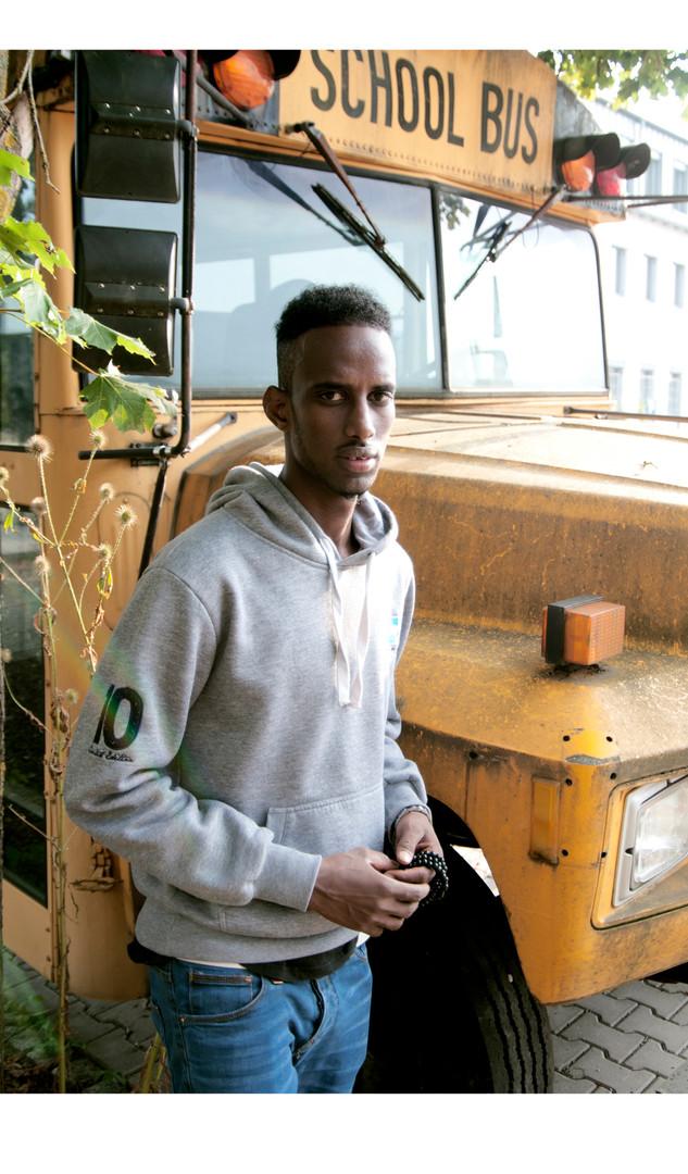 Ibrahim - 19 Yearls old from Somalia