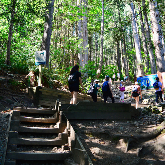 Group hike to Quarry Rock