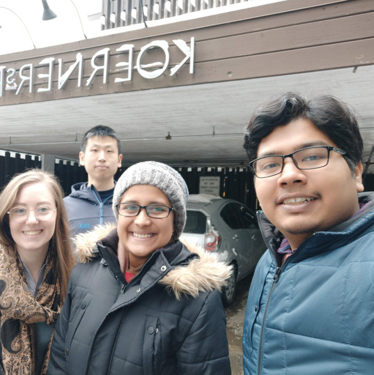 New lab member Rivkah visits UBC