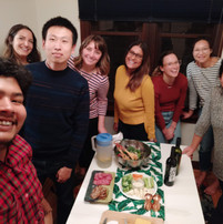 Joint Thanksgiving party with iReach lab!