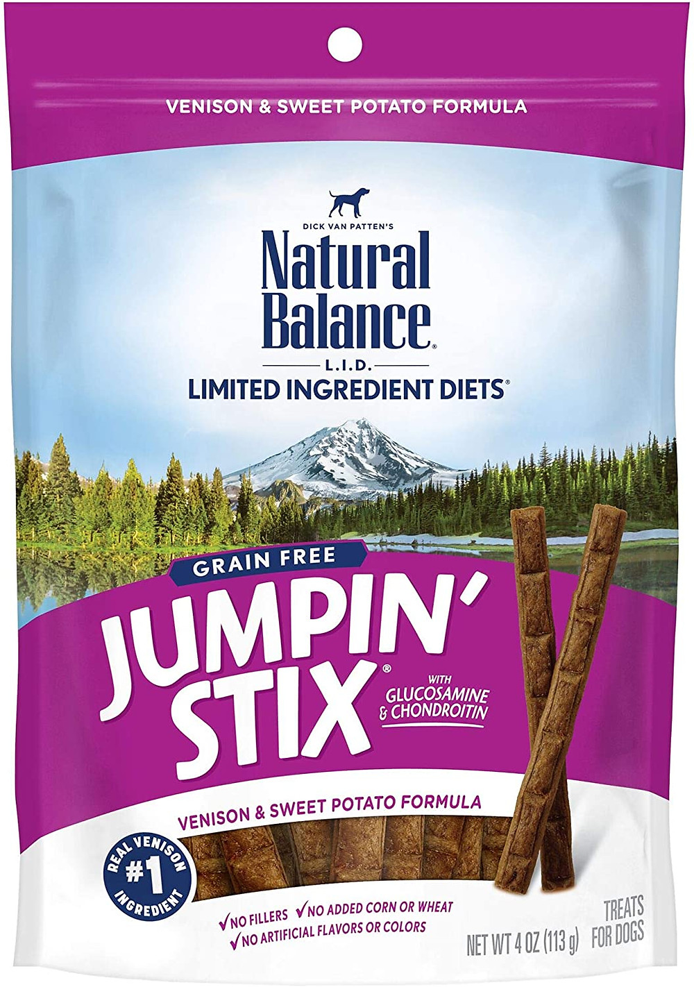 Natural Balance Jumpin' Stix Natural Dog Treats