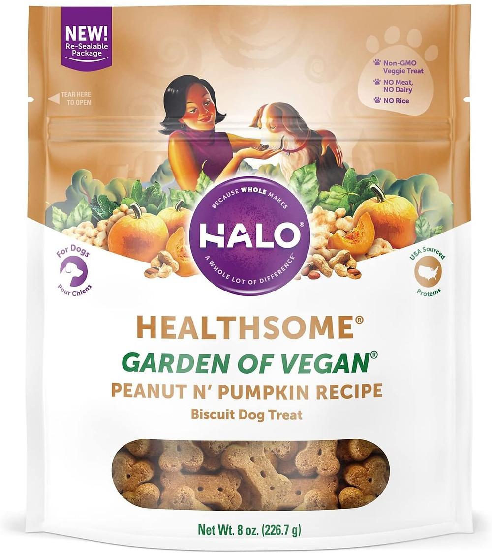 Halo Vegan Crunchy Natural Dog Treats