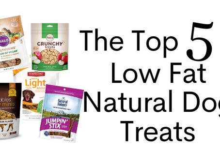 Top 5 Low Fat Natural Dog Treats