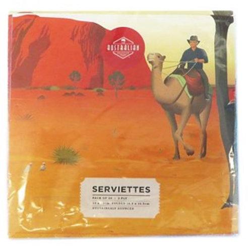 Australian Serviettes / Outback