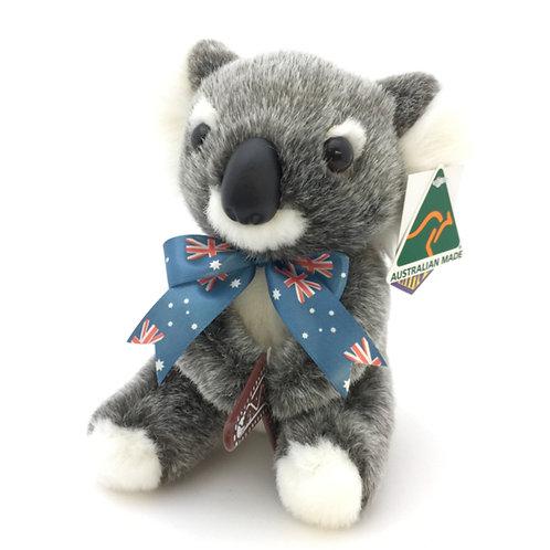 Australian Made / Koala soft toy ( S )  boomerang or leaf