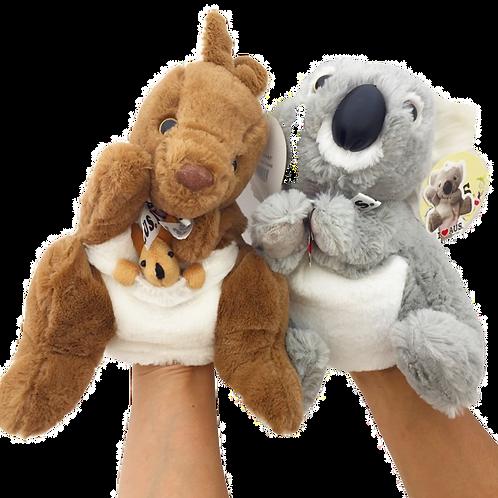 Soft Hand Puppet / Koala or Kangaroo
