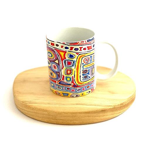 Dreamtime Collection Mug | Felicity Robertson Nampitjinpa