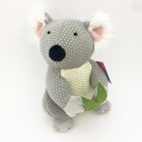 Koala knit soft toy