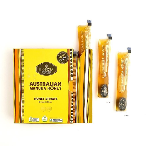 Australian Manuka Honey MGO150+ / 12g x 12straws