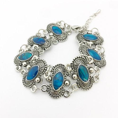 Marine Opal - Paua -Shell / bracelet