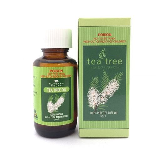 100% Pure Tea Tree Oil 50ml