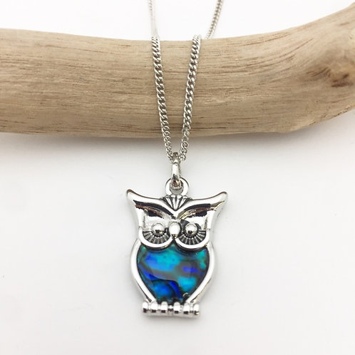 Marine Opal - Paua-Shell / Owl
