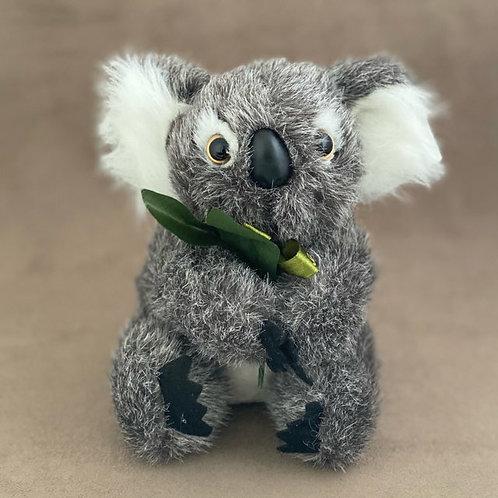 Koala soft toy with Leaf ( M )