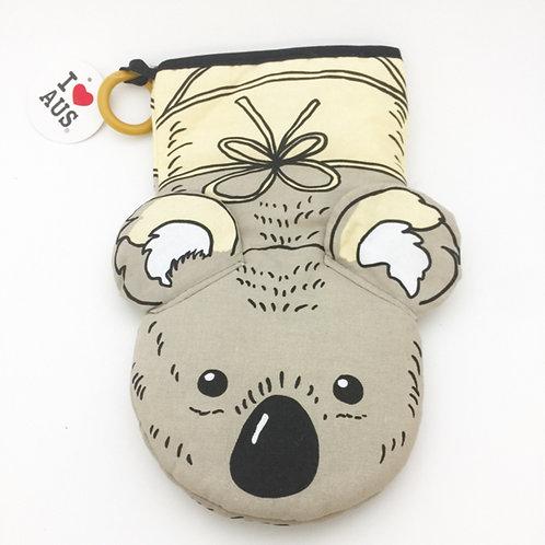 Koala puppet mitten
