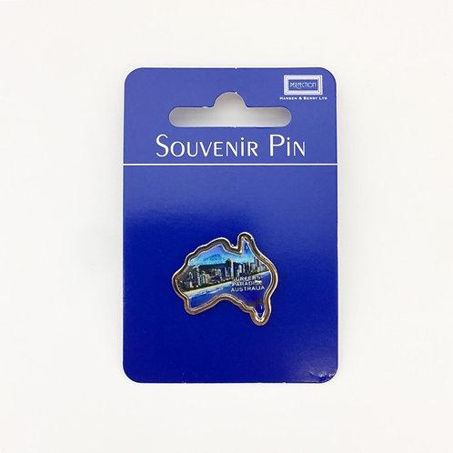 Surfers Paradise Australia Souvenir Pin