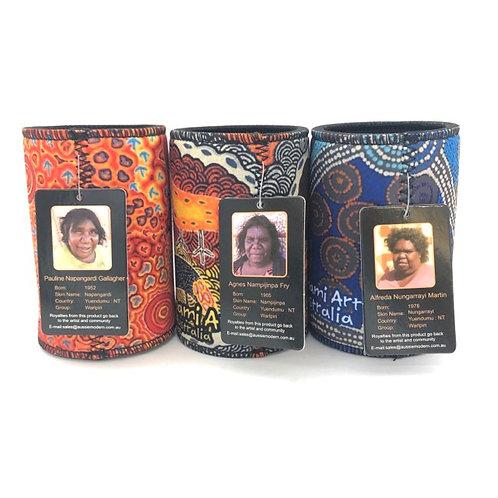 Aboriginal Design Stubby cooler / Set of 3